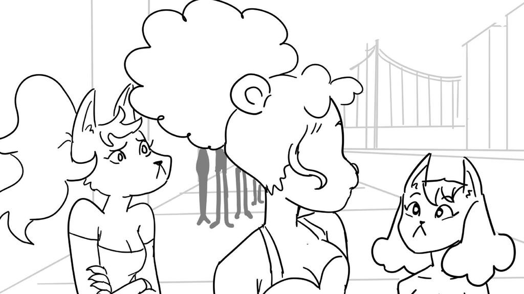 Scene 5 Panel 9 Dialog Tiffy:Would you let us i...