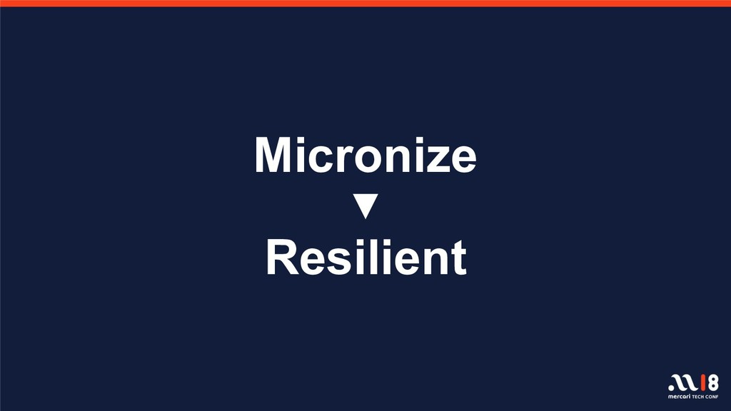 Micronize ▼ Resilient
