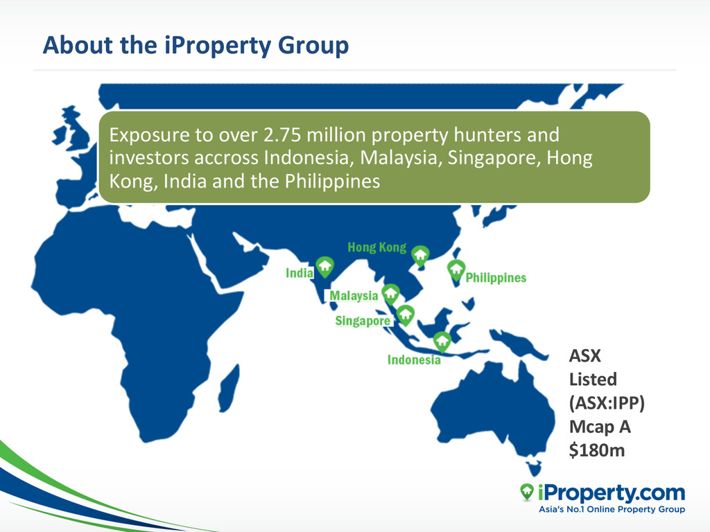 About the iProperty Group  ASX  ...
