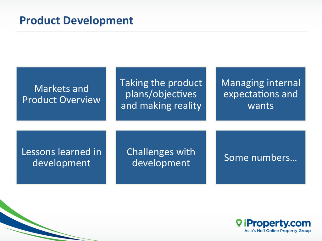 Product Development  Markets and  P...
