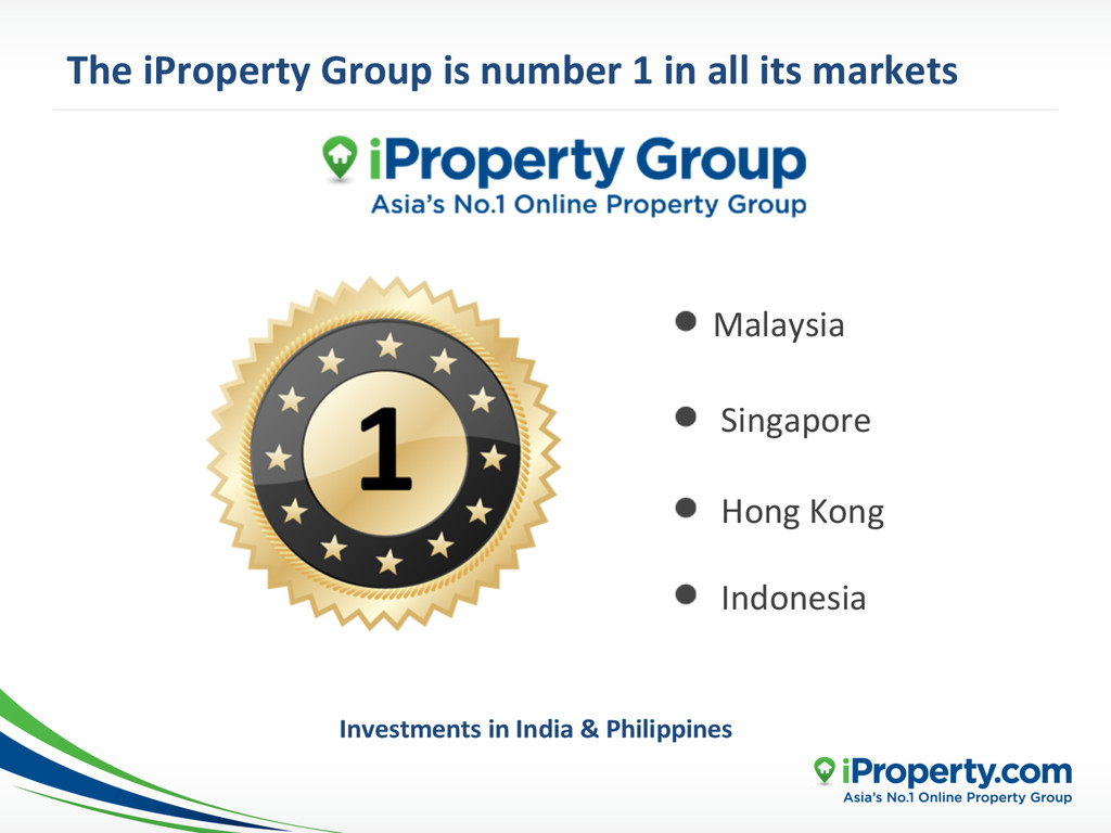 The iProperty Group is number 1...