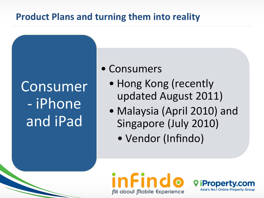 Product Plans and turning them i...