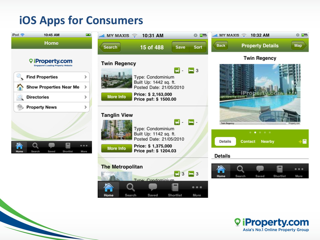 iOS Apps for Consumers