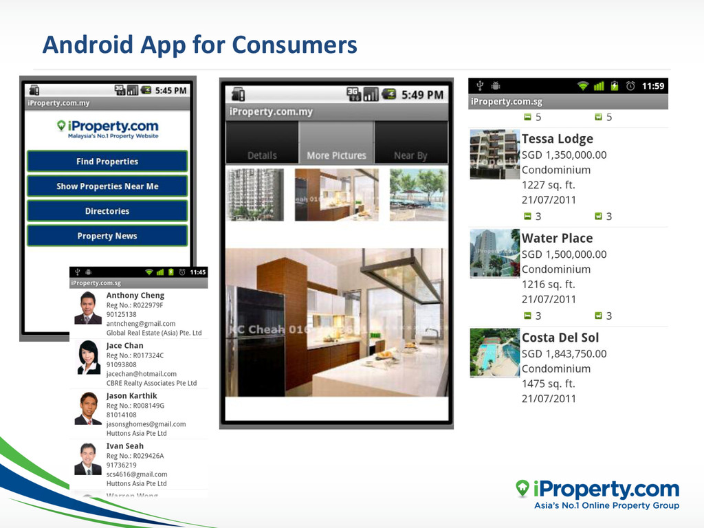 Android App for Consumers