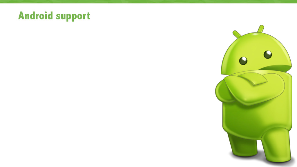 Android support 44