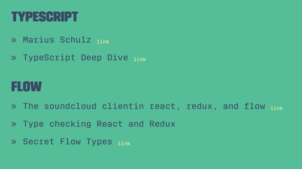 Typescript » Marius Schulz link » TypeScript De...