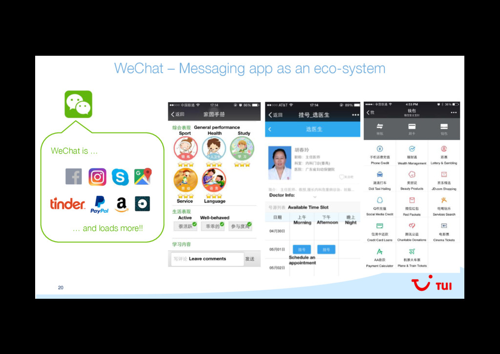 20 WeChat – Messaging app as an eco-system