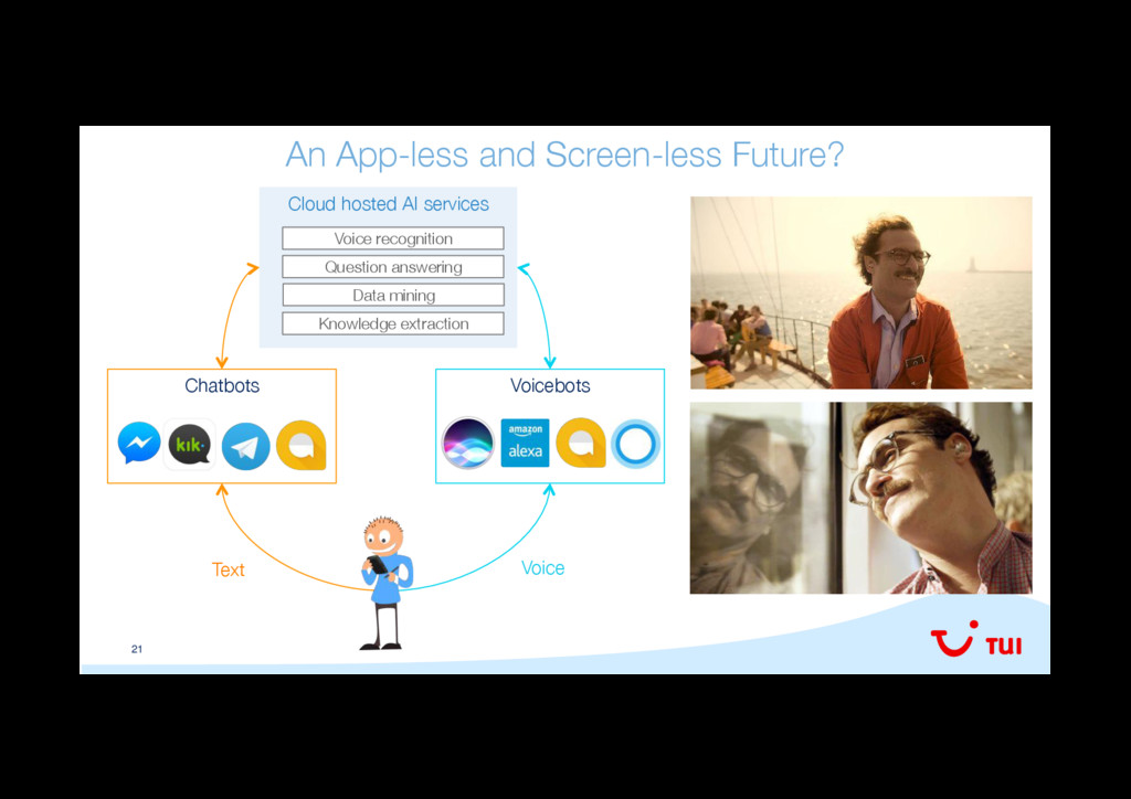 21 An App-less and Screen-less Future?