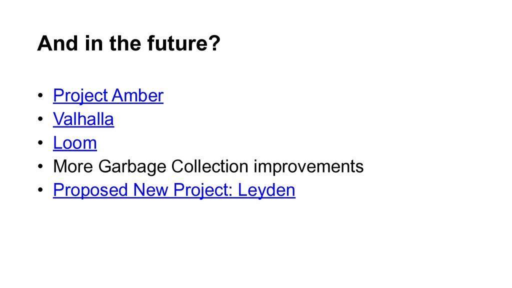 • Project Amber • Valhalla • Loom • More Garbag...