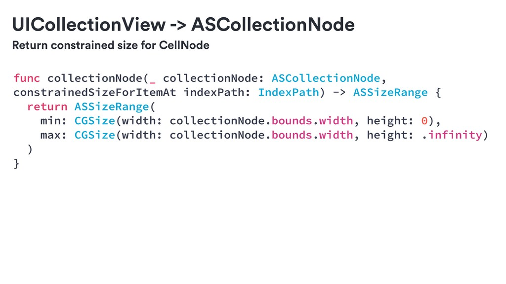 Return constrained size for CellNode func colle...