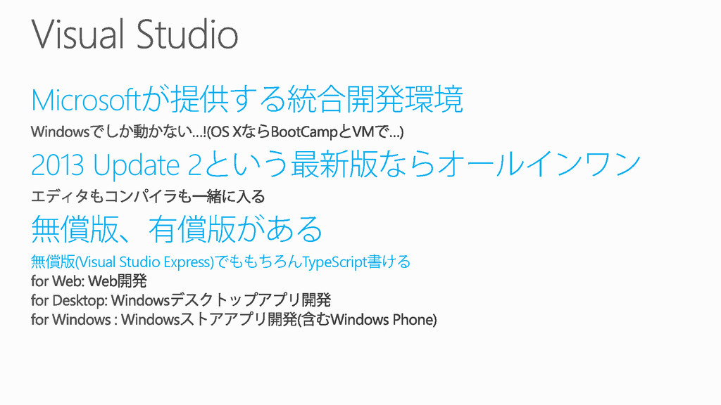 Microsoft 2013 Update 2 (Visual Studio Express)...