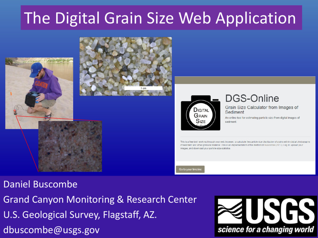 The Digital Grain Size Web Application Daniel B...