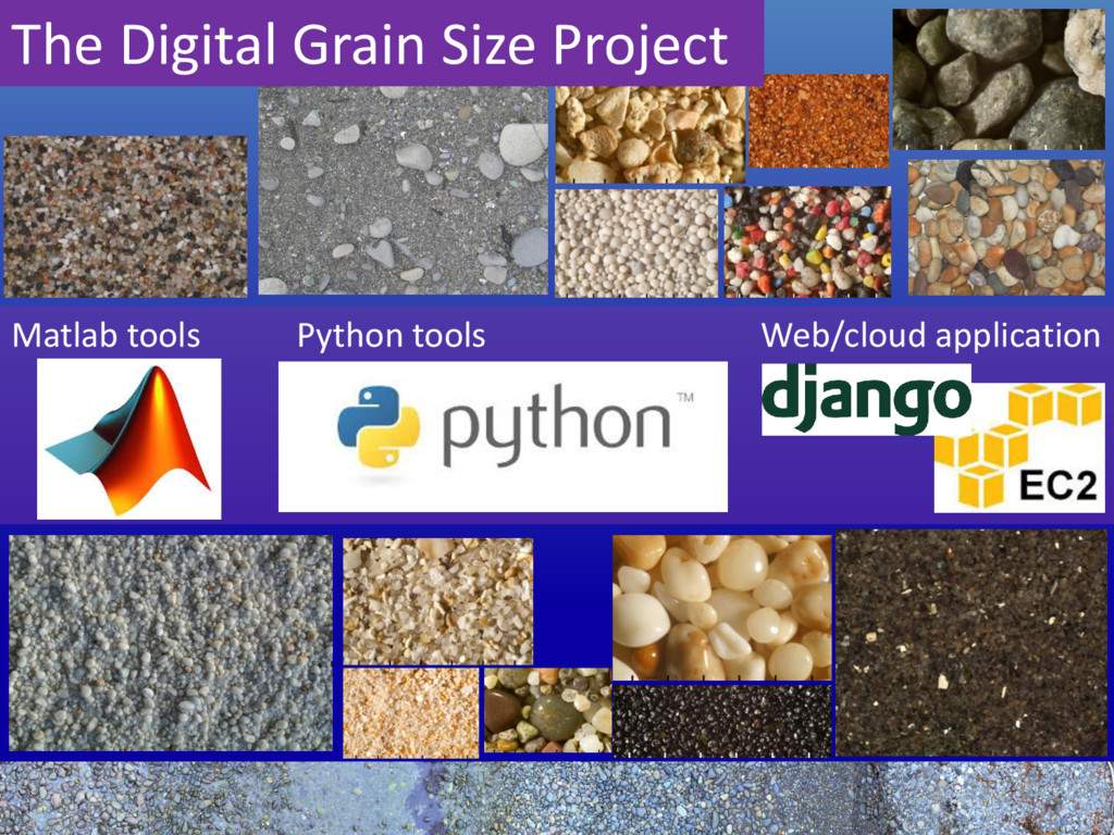 The Digital Grain Size Project Matlab tools Pyt...