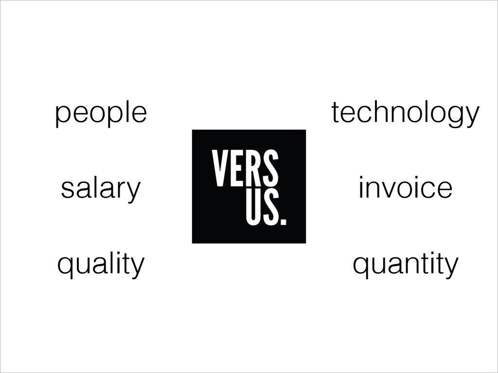 people salary quality technology invoice quanti...