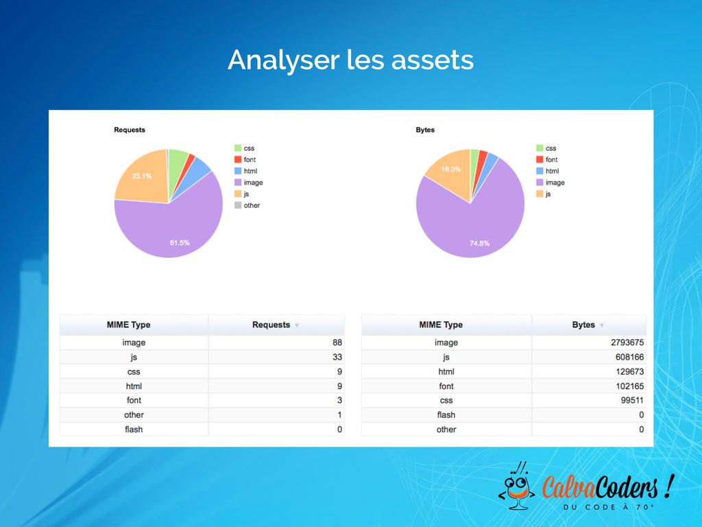 Analyser les assets