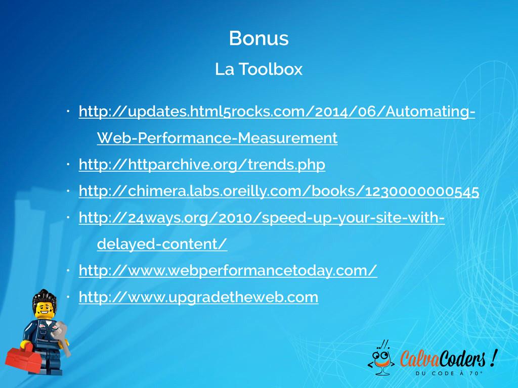 La Toolbox • http:/ /updates.html5rocks.com/201...