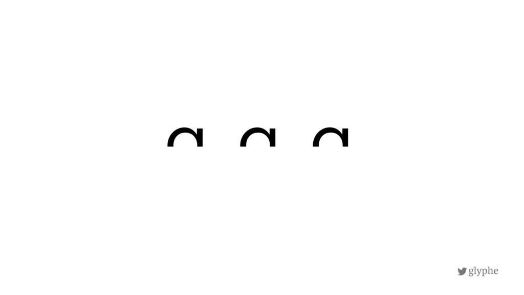 glyphe a g q
