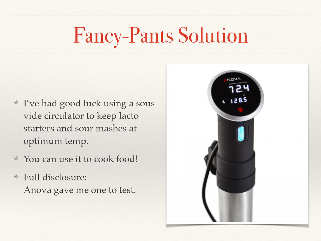 Fancy-Pants Solution ❖ I've had good luck using...