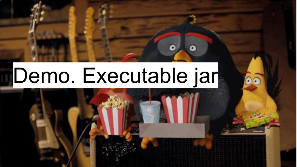 Demo. Executable jar