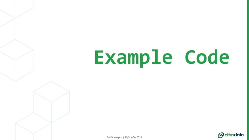 Sai Srirampur | PyConCA 2018 Example Code Sai S...