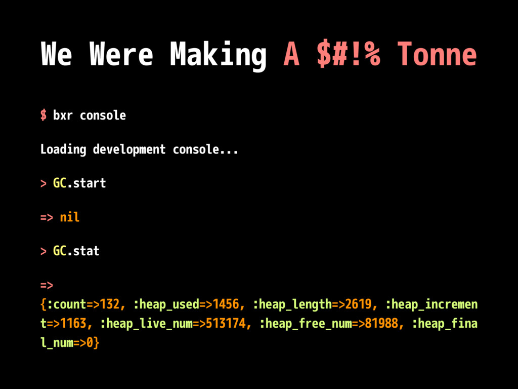 We Were Making A $#!% Tonne $ bxr console Loadi...
