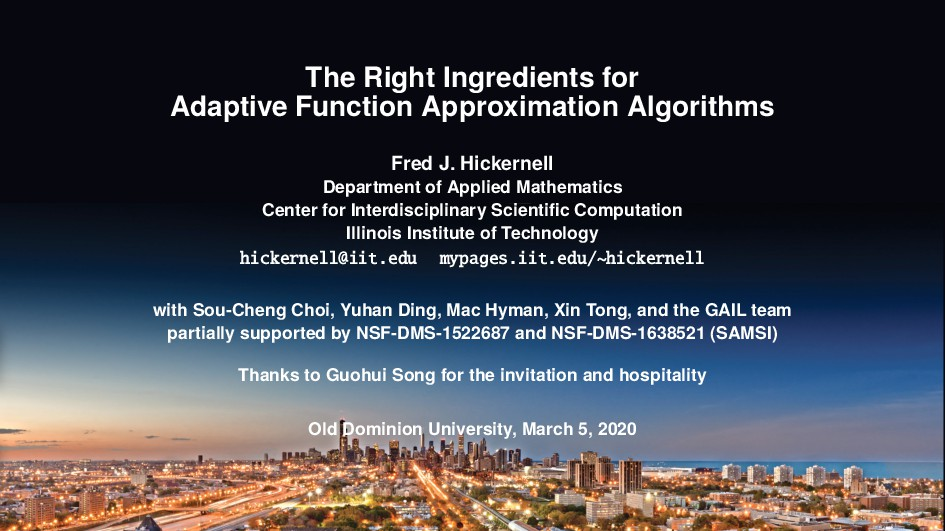 The Right Ingredients for Adaptive Function App...