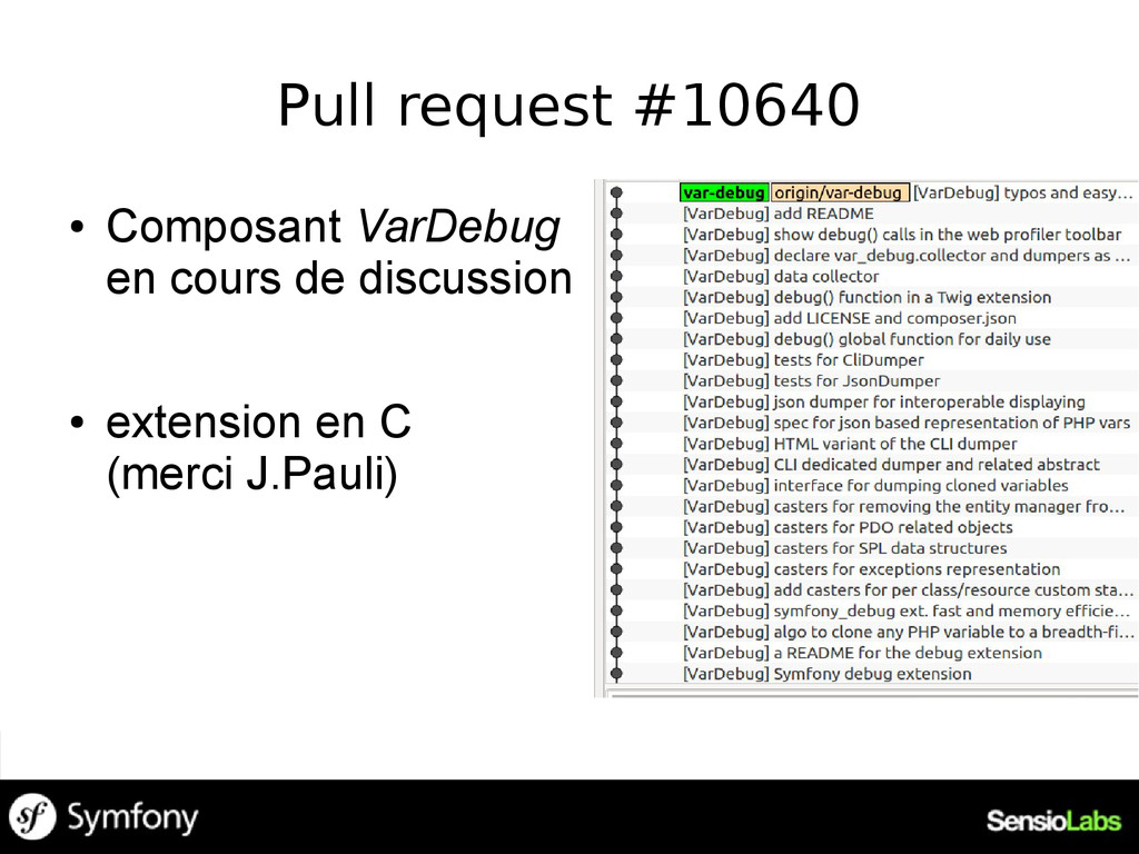 Pull request #10640 ● Composant VarDebug en cou...