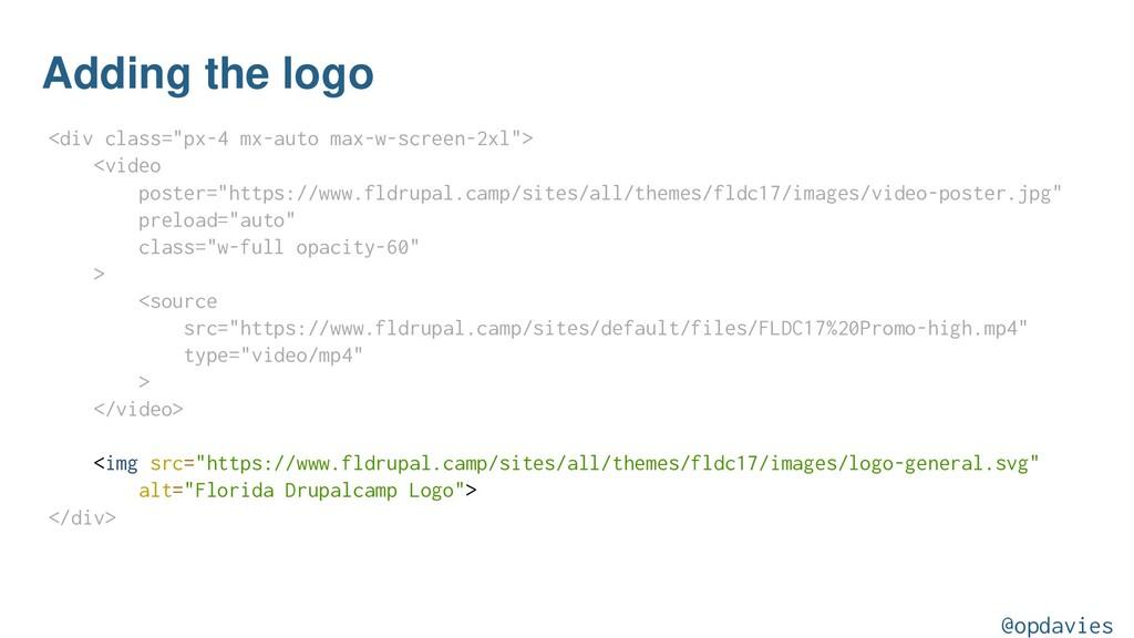 """Adding the logo <div class=""""px-4 mx-auto max-w-..."""