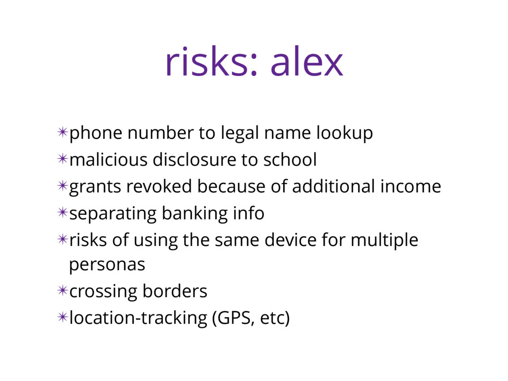 risks: alex ✴phone number to legal name lookup ...