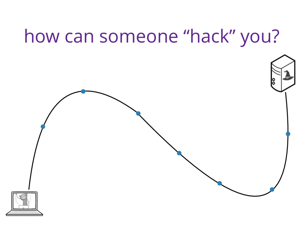 """how can someone """"hack"""" you?"""