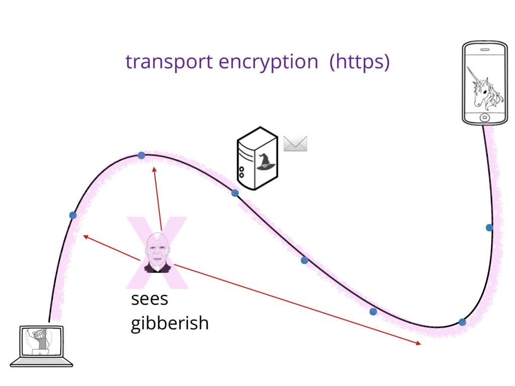 transport encryption (https) sees gibberish X ✉