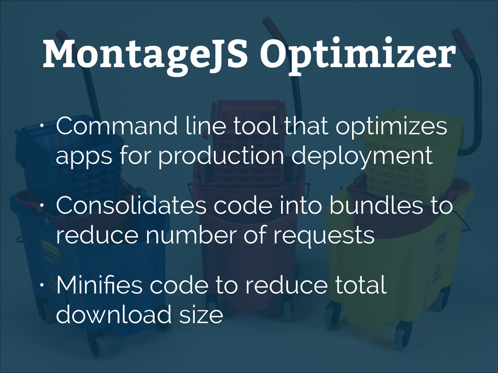 • Command line tool that optimizes apps for pro...