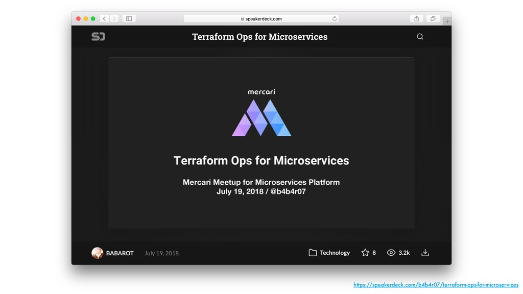 https://speakerdeck.com/b4b4r07/terraform-ops-f...