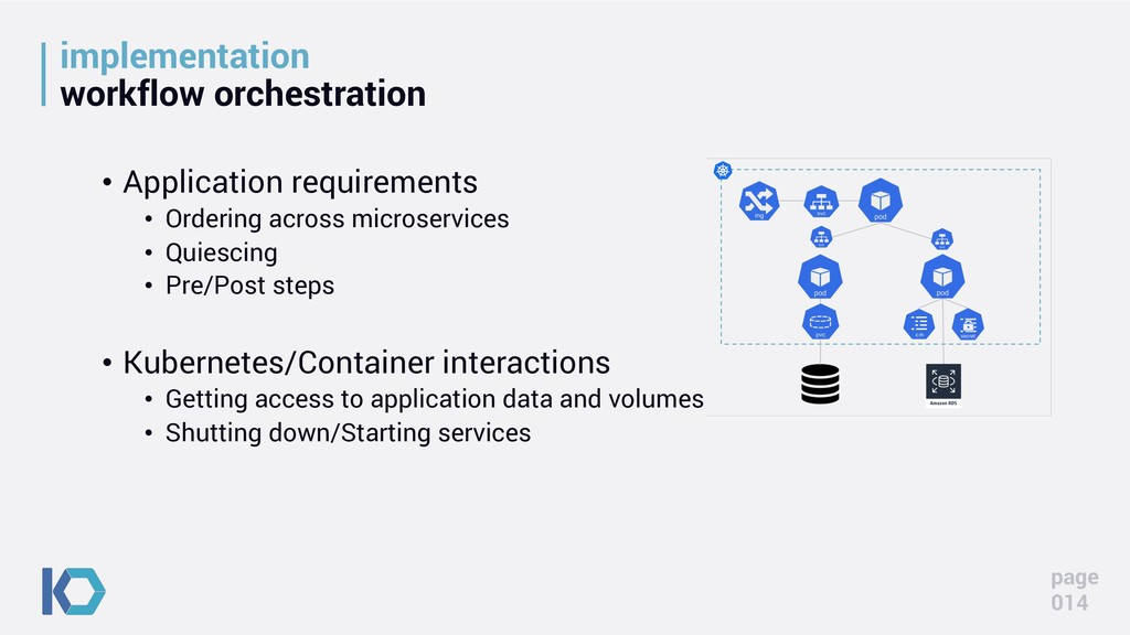 implementation workflow orchestration • Applica...