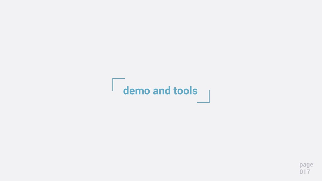 demo and tools page 017