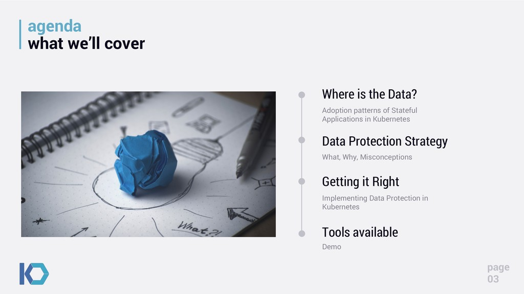 agenda what we'll cover Where is the Data? Adop...