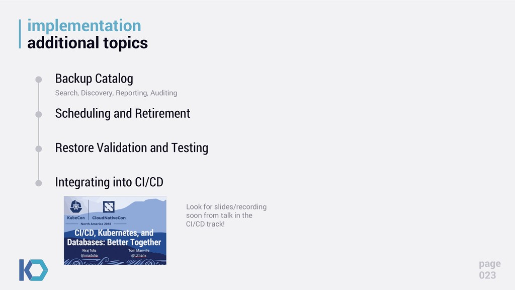 implementation additional topics page 023 Backu...