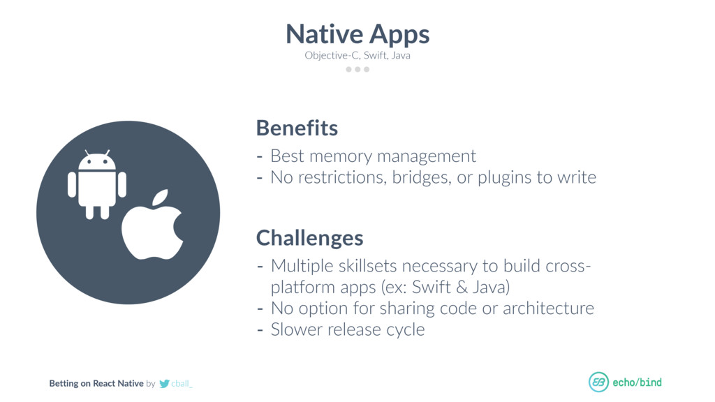Betting on React Native by cball_ Native Apps O...