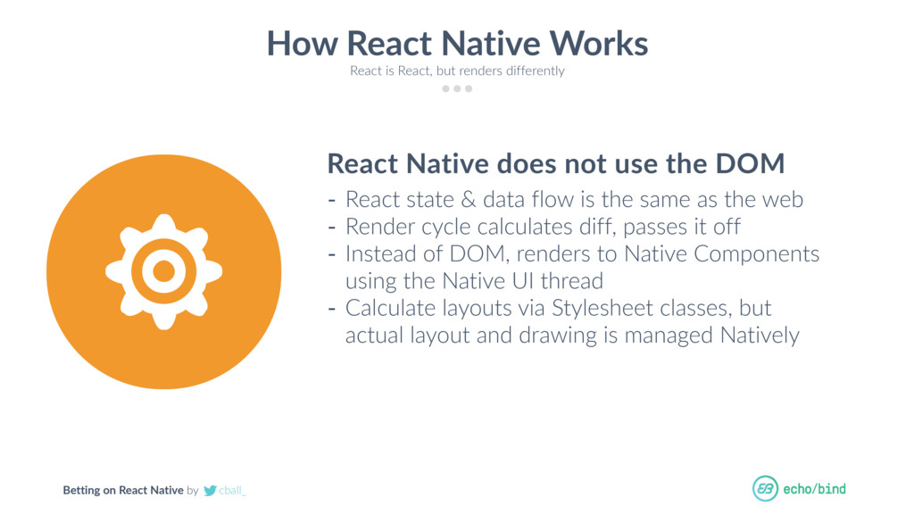 Betting on React Native by cball_ How React Nat...