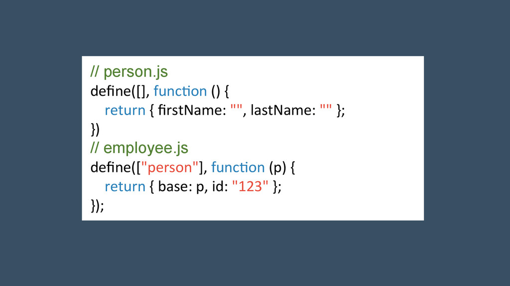 // person.js  define([], func2on () ...