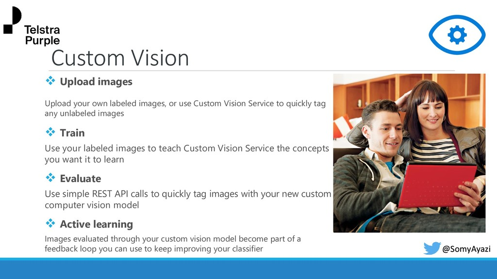 Custom Vision ❖ Upload images Upload your own l...