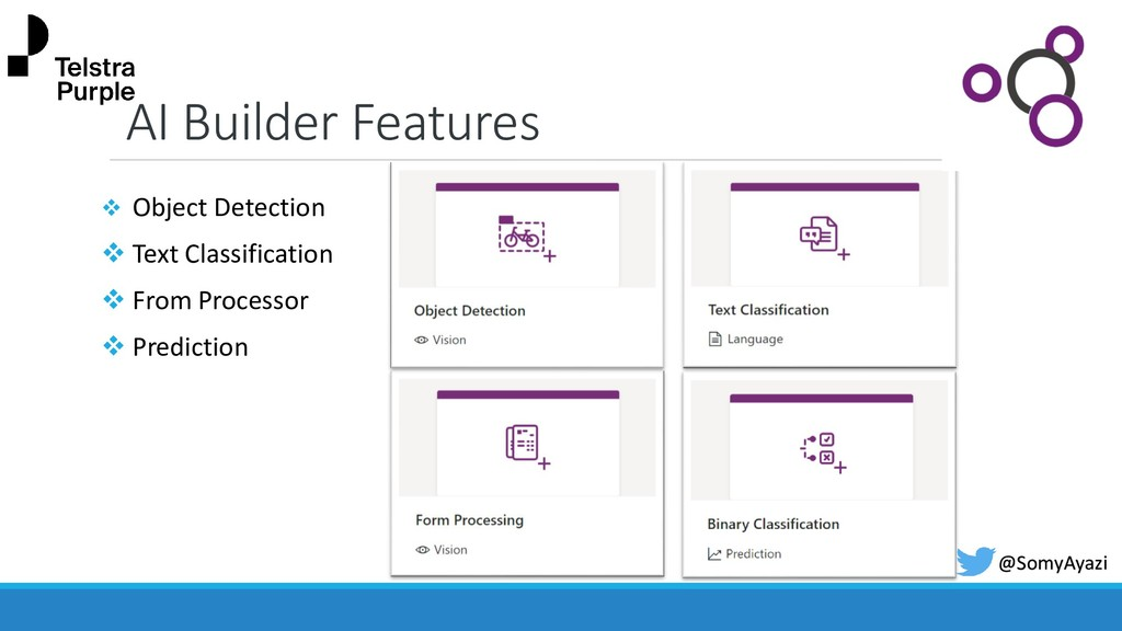 AI Builder Features ❖ Object Detection ❖ Text C...