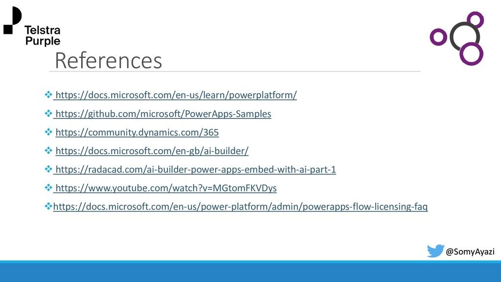 References ❖ https://docs.microsoft.com/en-us/l...