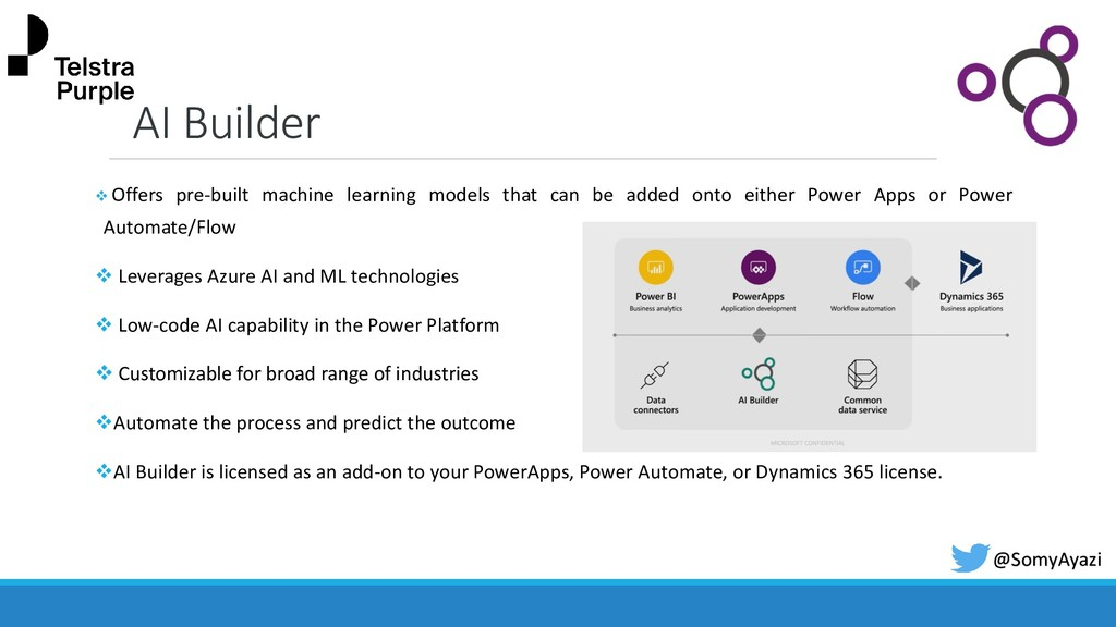 AI Builder ❖ Offers pre-built machine learning ...