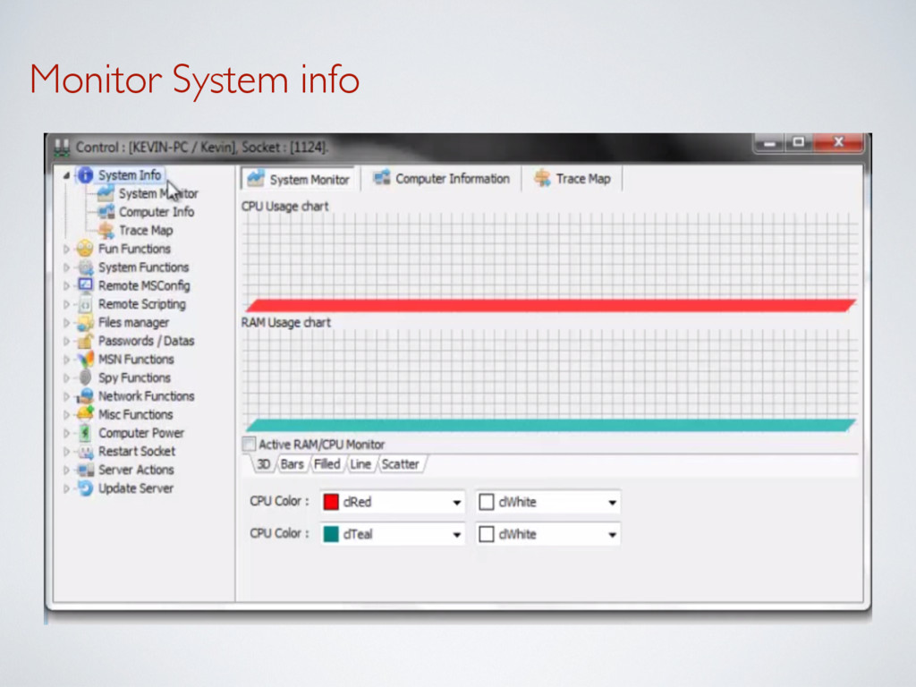 Monitor System info