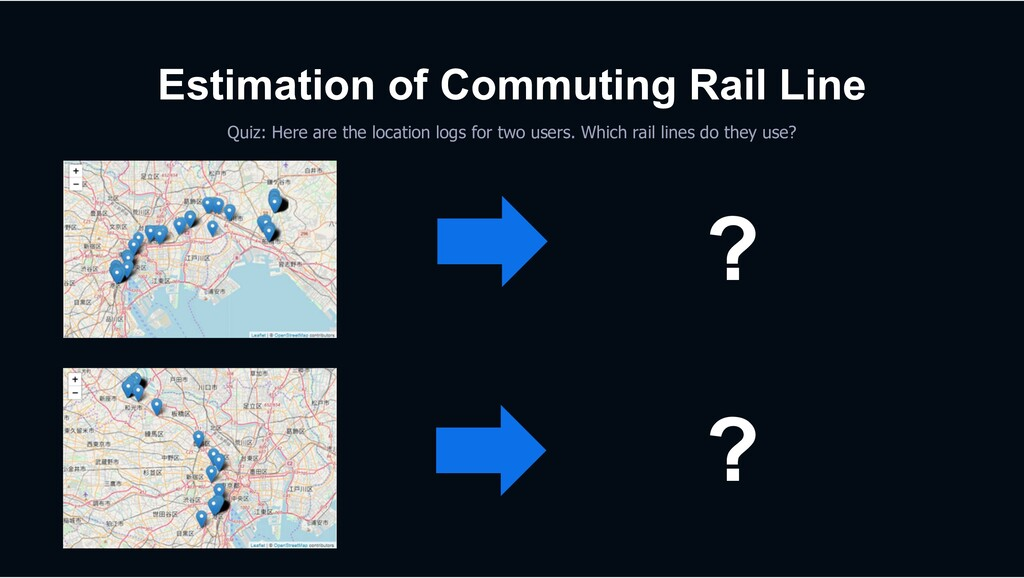 Estimation of Commuting Rail Line Quiz: Here ar...