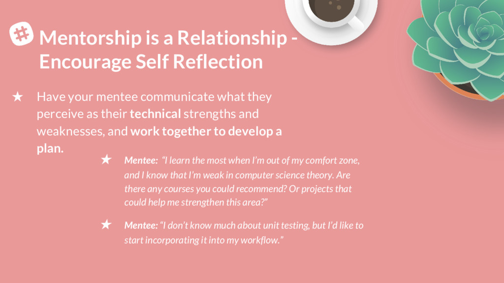 Mentorship is a Relationship - Encourage Self R...