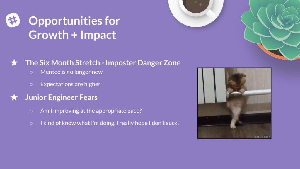 ★ The Six Month Stretch - Imposter Danger Zone ...