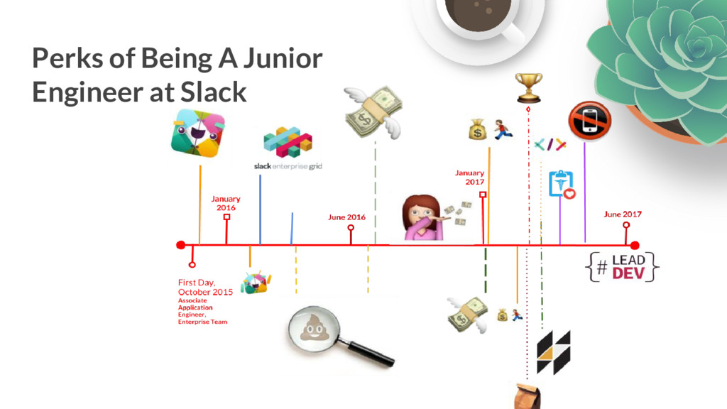 Perks of Being A Junior Engineer at Slack