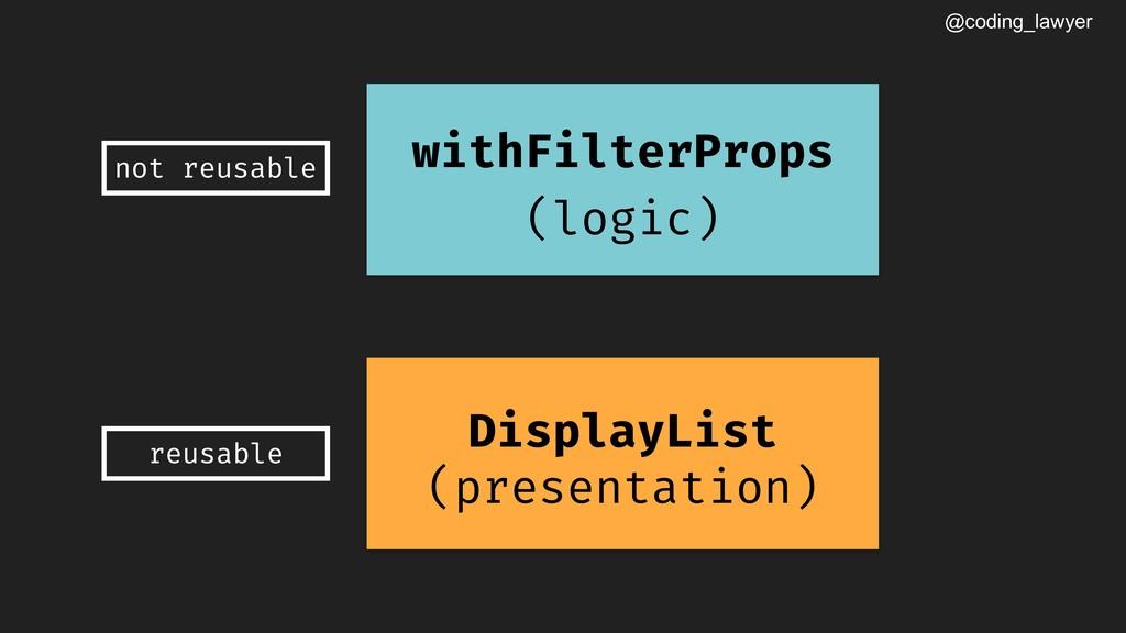 @coding_lawyer DisplayList (presentation) withF...